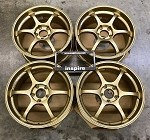 Yokohama Wheels Advan Racing RG-D 18x8.0 +38 5x114.3 Racing Gold Metallic