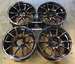 Weds Wheels Wedssport SA10R 18x9.5 +38 5x114.3 Blue Light Chrome