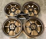 Yokohama Wheels Advan Racing RG-D2 18x9.5 +45 5x114.3 Umber Bronze Metallic