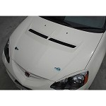 J's Racing Type S Ventilated Hood - Acura RSX 02-06 DC5 (FRP or CFRP)