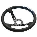 Key's Steering Wheel - Deep Type 350mm Leather