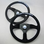 Key's Steering Wheel - Drift Type 345mm Suede