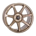 Cosmis Racing MR7 Wheel (Bronze) - 18x10 / 5x114.3 / Offset +25