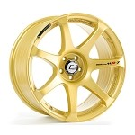 Cosmis Racing MR7 Wheel (Gold) - 18x10 / 5x114.3 / Offset +25