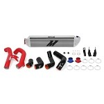 Mishimoto Performance Intercooler Kit (Silver Intercooler, Red Pipes) - Honda Civic 1.5T/Si 2016+