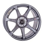 Cosmis Racing MR7 Wheel (Gunmetal) - 18x10 / 5x114.3 / Offset +25