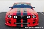 APR Performance S197 Widebody Aerodynamic Kit - Ford Mustang 05-09