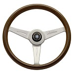 Nardi Classic - 360mm (Mahogany Wood w/ Satin Spokes)