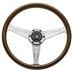 Nardi Classic - 360mm (Wood Finish w/ Glossy Spokes)