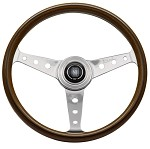 Nardi Classic - 360mm (Wood Finish / Glossy Spokes w/ Holes)