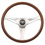 Nardi Classic - 390mm (Wood Finish w/ Glossy Spokes)