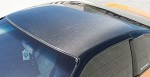 NRG Carbon Roof Cover Overlay - Nissan 240SX Hatchback S13 88-94