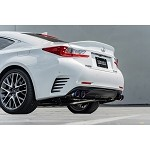 Remark Axle-Back Exhaust (Stainless Single Wall Tip) - Lexus RC200t 16-17 / RC300 2018+ / RC350 15-19