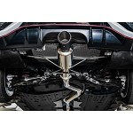 Remark Spec I Catback Exhaust (Stainless Steel Tip Cover) - Honda Civic Type R FK8 17+ (Non Resonated)