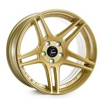 Cosmis Racing S5R Wheel (Gold) - 18x10.5 / 5x114.3 / Offset +20