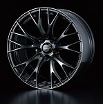 WedsSport SA-20R Wheel - 15x5.0 / 4x100 / Offset +45 (Weds Black Chrome)