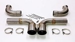 Sharkwerks Track Exhaust (loud) - Porsche 997, 997.2 GT3 / RS 2007-2012