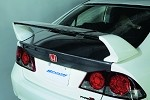 Spoon Sports Carbon Trunk Lid - Honda Civic FD2