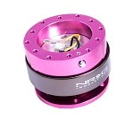 NRG 2.0 Quick Release (pink body with titanium ring)