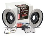 StopTech Sport Brake Kit Rear - Scion FRS / Subaru BRZ 13+