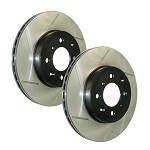 Stoptech Slotted REAR Rotors Set 2004-08 Acura TSX