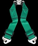 Takata RACE 6pt Sub-Strap (T-Bar) - Green