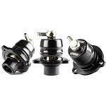 Turbosmart Kompact Shortie Dual Port Blow Off Valve - Ford Focus ST Mk3 2.0 EcoBoost 2012+ / Focus Mk2 XR5/RS/ST 2.5 5 cyl 05-10 / Focus RS Mk1 02-03