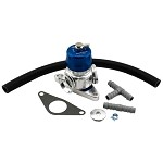 Turbosmart Dual Port Blow Off Valve (Blue) - Subaru WRX 02-07 / WRX STI 04-20 / Forester XT 06-07