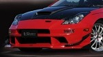 Varis Arising 3 Canards, Carbon for FB - Toyota ZZT23# Celica