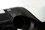 Voltex Carbon Fiber Burn Shield Cover - Mitsubishi EVO VIII / IX 03+