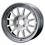 WedsSport Racing 2-Piece Wheel - 15x6.5 / Offset +27 / 4x100 (White)