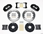 Wilwood Forged Narrow Superlite 6R Big Brake Front Brake Kit - Honda S2000 00-09 (Slotted)
