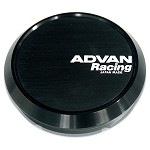 Advan Center Cap - Flat Cap (Black)