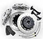 Alcon Monobloc Big Brake Kit - Honda S2000 (4POT, C-Hook Slotted 332x28)
