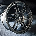 AME Tracer TM02 Wheels 18x10.0 +15 & 18x11 +10 Staggered 5x114.3 GunBlack