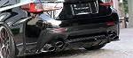 Artisan Spirits Z's Sports Line Exhaust (SS Body/ Carbon Tip) - Lexus RC-F USC10 2014-up
