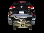 AWE Tuning Performance Exhaust - Polished Silver Tips - Volkswagen Golf TDI
