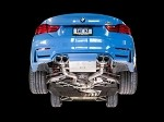 AWE Tuning Non Resonated SwitchPath Exhaust - Diamond Black Tips (90mm) - BMW F8X M3/M4