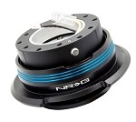 NRG 2.9 Quick Release (Black Body with Black Ring & 3 Blue Stripes)