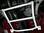Carbing Lower Arm Bar (Front) - Mitsubishi Evolution VIII/IX 03-07