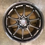Rays Wheels Volk Racing CE28SL 18x9.5 +22 5x114.3 Pressed Graphite