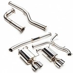 Cobb SS 3in Turboback Exhaust (Non-Resonated J-Pipe) - Subaru WRX 15-17
