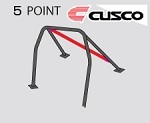 Cusco D1 Roll Cage - Acura Integra Type-R 02-06 (5-pnt, 2 Pass)