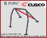 Cusco D1 Chromoly Dash Escape Roll Cage - Scion FRS / Subaru BRZ (2-passenger, 5PT)