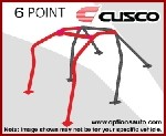 Cusco D1 Chromoly Dash Escape Roll Cage - Scion FRS / Subaru BRZ (4-passenger, 6PT)