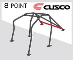 Cusco D1 Roll Cage - Acura Integra Type-R 02-06 (8-pnt, 2 Pass) Around Dash-Type
