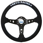 Key's Steering Wheel - Deep Type 350mm Suede