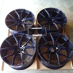 Rays Wheels Gram Lights 57FXX Dark Blue 20x10 +30 20x11 +18 5x114.3