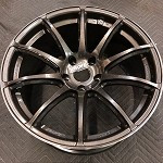 Rays Wheels Gram Lights 57Transcend 18x9.5 +25 5x114.3 Super Dark Gunmetal
