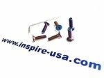 inspireUSA Steering Wheel Bolt Kit - Burnt Titanium